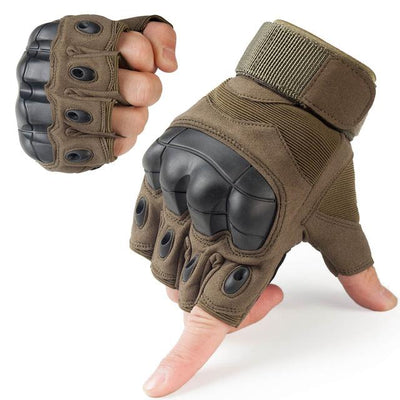 Touch Screen Tactical Gloves - A10 Green / S