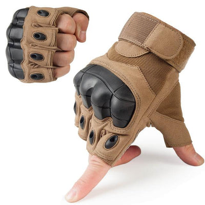 Touch Screen Tactical Gloves - A10 Brown / S