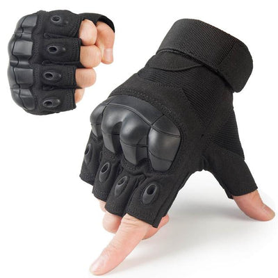 Touch Screen Tactical Gloves - A10 Black / S