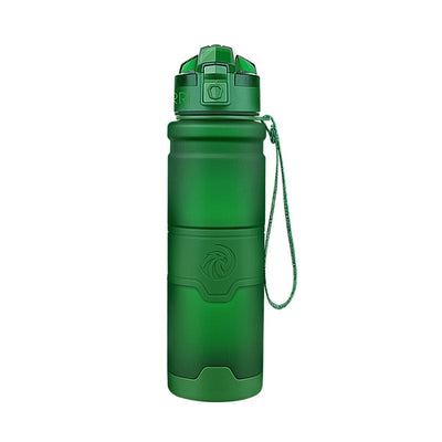 Plastic Water Bottles - 400ml / moss green