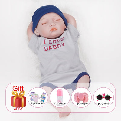 Silicone Reborn Baby Dolls - No hair boy body