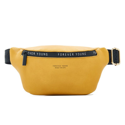 Women Fanny Pack - Yellow