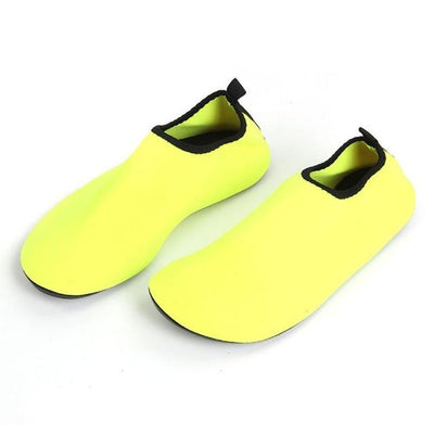 Soft Aqua Slippers - Yellow / 3XL