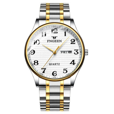 Watches for Men - steel white
