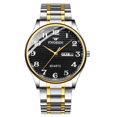 Watches for Men - steel black