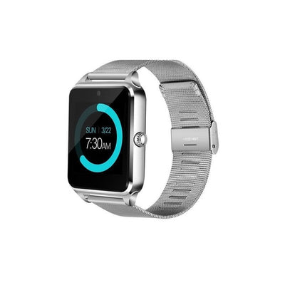 LED Touch Screen Bluetooth Smart Watch - Silver