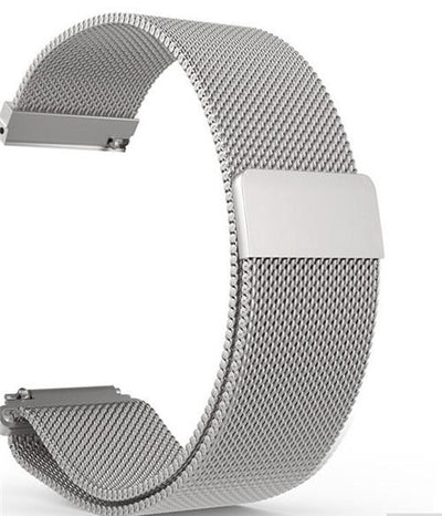wristband - Silver / 22mm gear S3