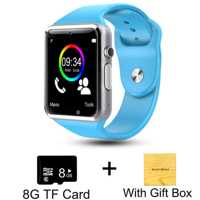 Kids Smart Phone Watch - Blue with 8G Card