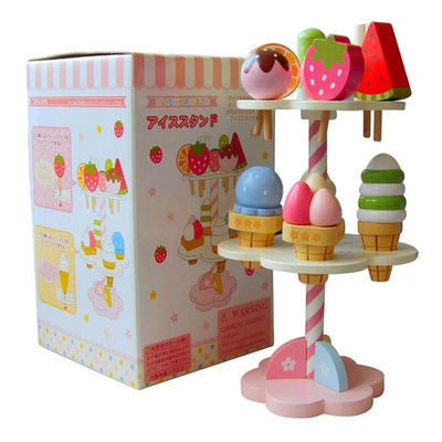 Ice Cream Wooden Toys - QWZ073