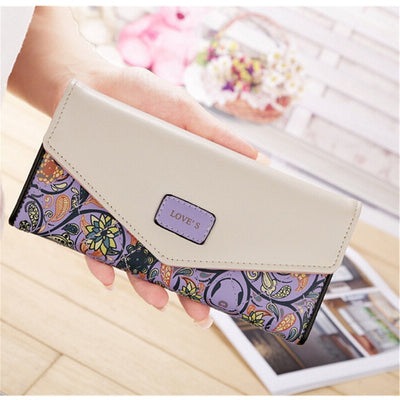 Women's Wallet - Purple