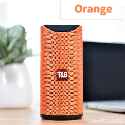 Portable Bluetooth Speaker - Orange