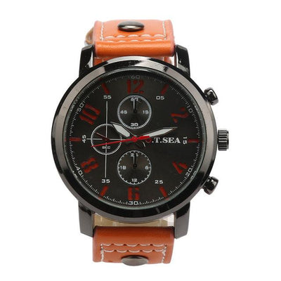 Casual Military Sports Watch - Orange