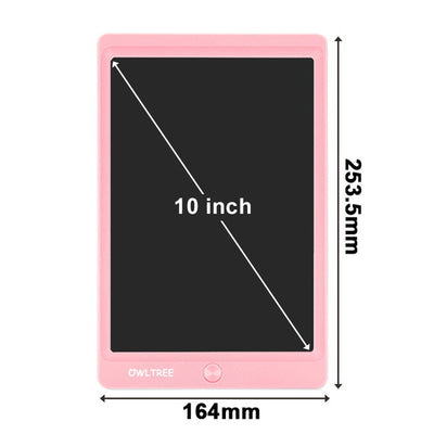 LCD Writing Tablet - 10 inch Pink
