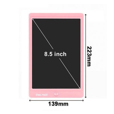 LCD Writing Tablet - 8.5 inch Pink