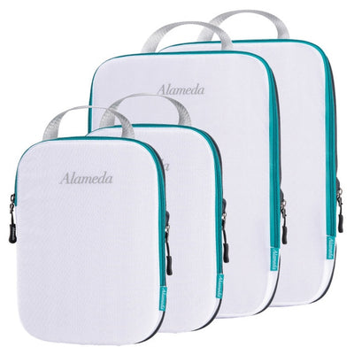 Packing Cubes - White-4pcs