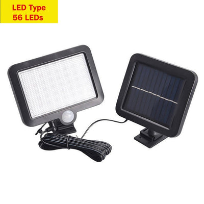 Solar Wall Lamp - 56LEDs LED Type