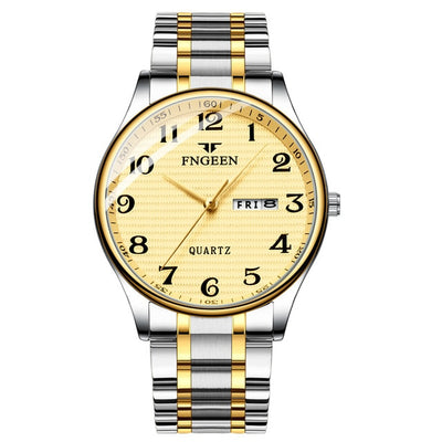 Watches for Men - steel gold