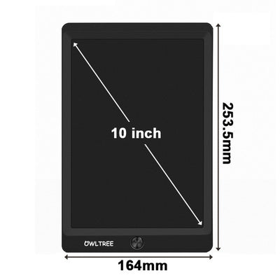 LCD Writing Tablet - 10 inch Black
