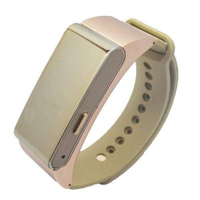 Smart Bracelet Talk Band - Gold