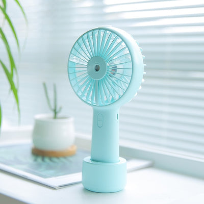 Mini Fan - light blue