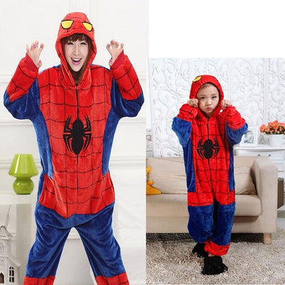 Animals Costume - Spiderman / S / Animal pajamas