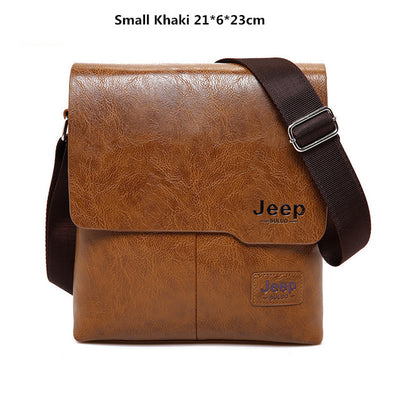 Business Bags For Men - Small Khaki