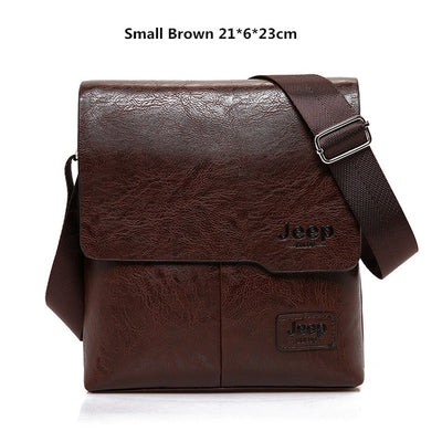 Business Bags For Men - Small Brown