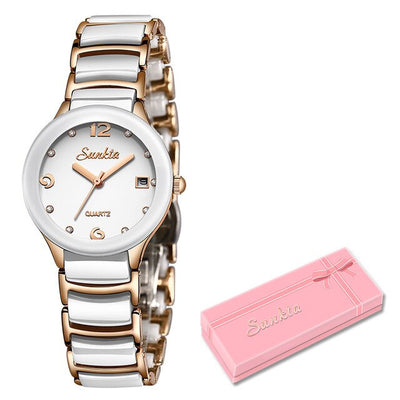 Watches for women - Rose gold white