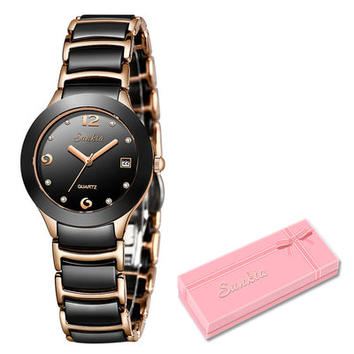 Watches for women - Rose gold black