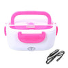 Portable Electric Heating Lunch Box - 12V Pink