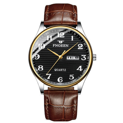 Watches for Men - leather black