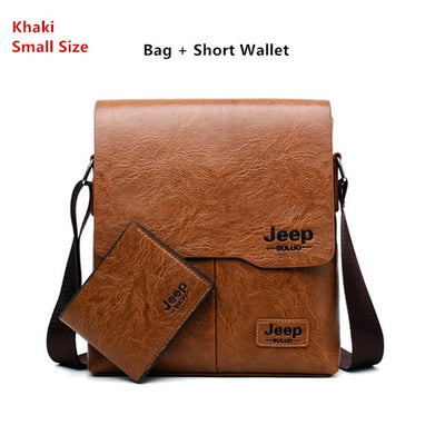 Business Bags For Men - S-Khaki 1505-W002