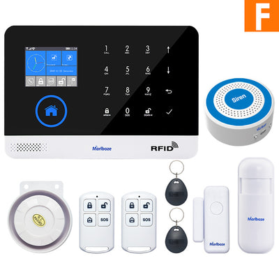 Home Security Alarm Systems - Set F