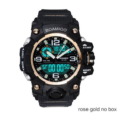 Men Sports Watches - rose gold no box