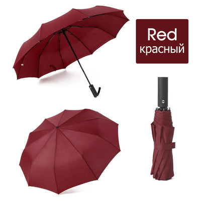 Folding Umbrella - red