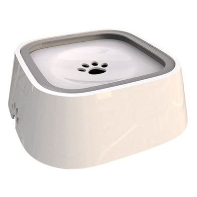 Pet Water Bowl - white