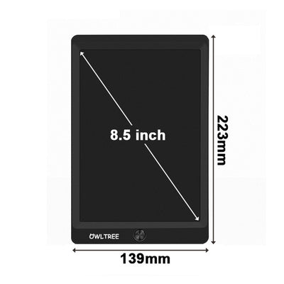 LCD Writing Tablet - 8.5 inch Black