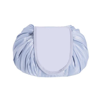 Drawstring Makeup Storage Bag - 571SYK-Gray