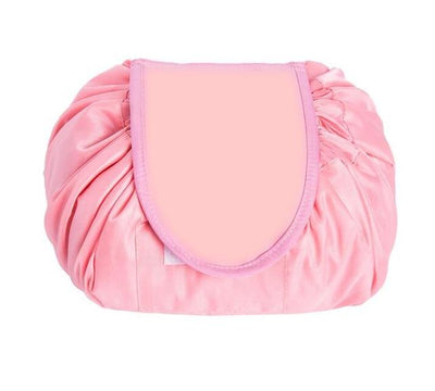 Drawstring Makeup Storage Bag - 571SYK-Pink