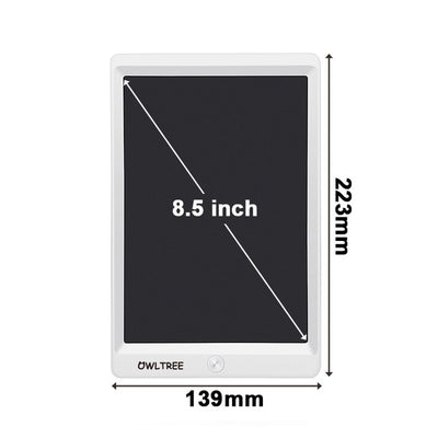 LCD Writing Tablet - 8.5 inch White