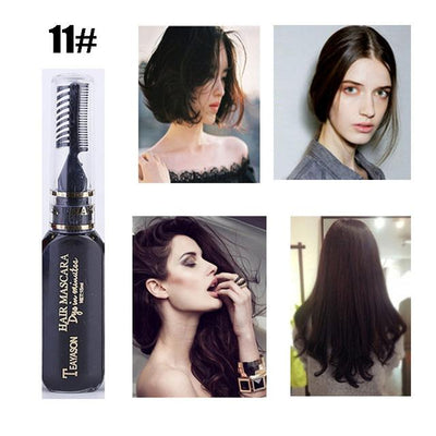 Long Lasting Hair Dye - Black