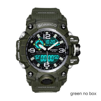 Men Sports Watches - green no box