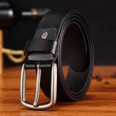 Belt For Men - nz353-black / 105CM