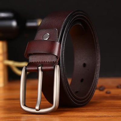 Belt For Men - nz353-coffee / 105CM