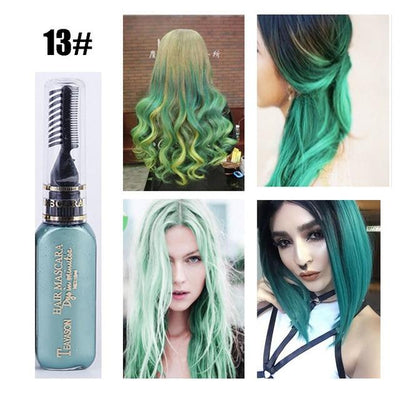 Long Lasting Hair Dye - Green