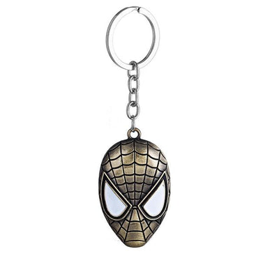 Superhero Key Holder - Spiderman Silver