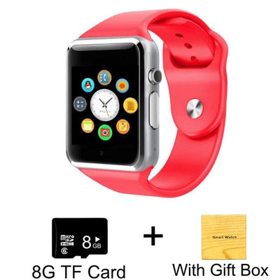 Kids Smart Phone Watch - Red with 8G Card