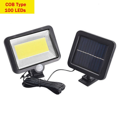Solar Wall Lamp - 100LEDs COB Type