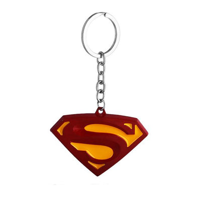 Superhero Key Holder - Superman Yellow