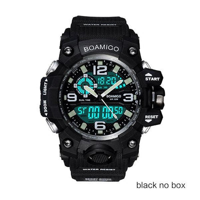 Men Sports Watches - black no box